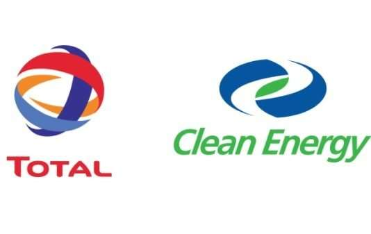 Total and Clean Energy logos