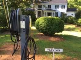 Electric vehicle chargers and inns are a good mix.