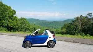 smart fortwo in the Smokies