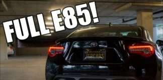GT86 Full E85 Image Toyota