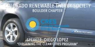 Colorado Renewable Energy Society--Boulder Chapter