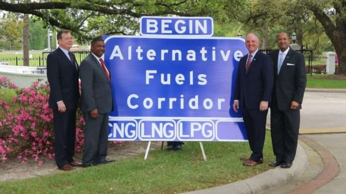 Alternative Fuel Corridor Signage