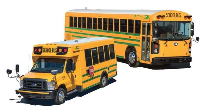 electric school buses