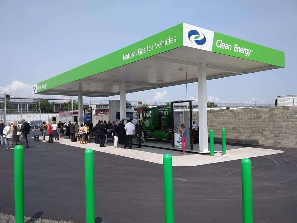 renewable natural gas station