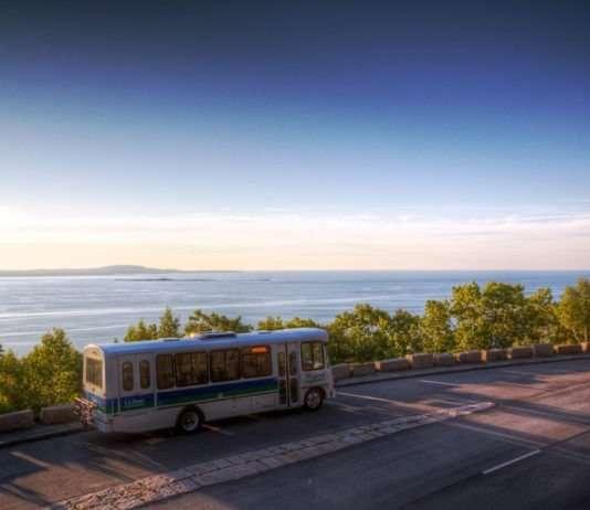 propane-powered bus