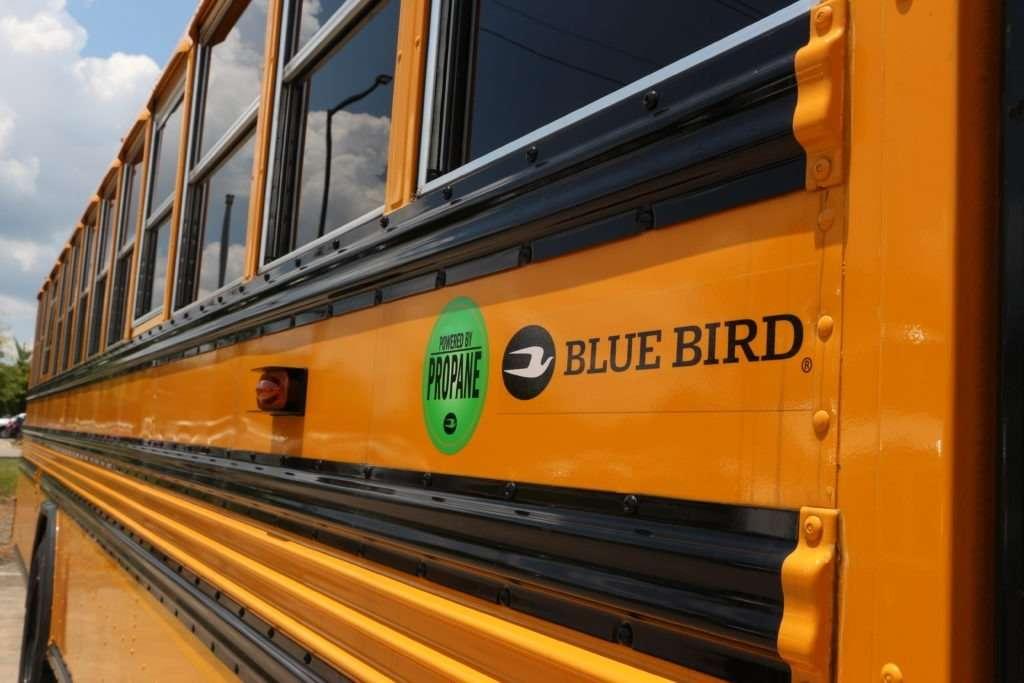 school buses run on propane