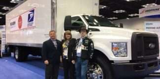 propane fueled truck