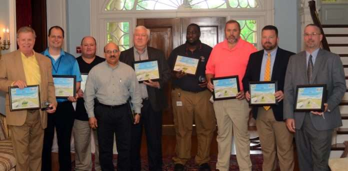 Winners from the 2017 Green Fleet Awards in Kentucky, a project that new Executive Director Carpenter helped revitalize.