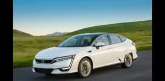Honda Clarity Stock Image