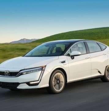 Honda Clarity Stock Image
