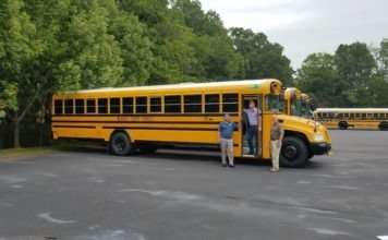 Propane School Bus Fleet
