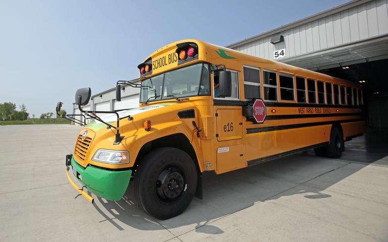 electric school bus