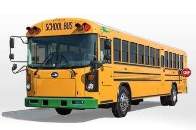 low emission buses