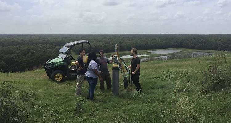 interns learning about renewable natural gas