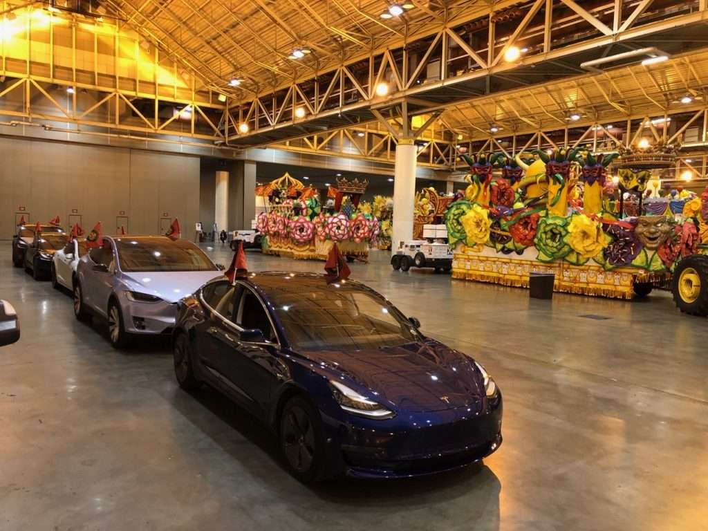 tesla at the convention center
